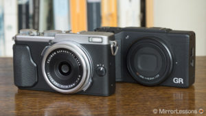 Fujifilm X70 vs Ricoh GR II – The complete comparison