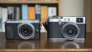 Fujifilm X70 vs X100T – The complete comparison