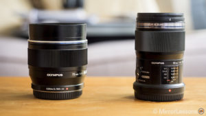 Olympus M.Zuiko 60mm vs. 75mm – Apples vs Oranges