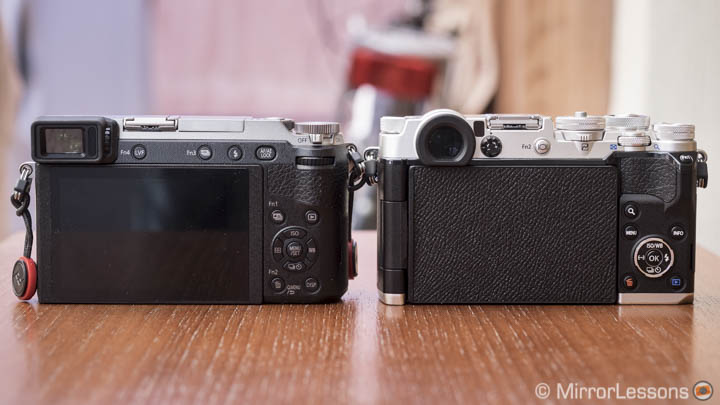 panasonic gx85 vs olympus pen f