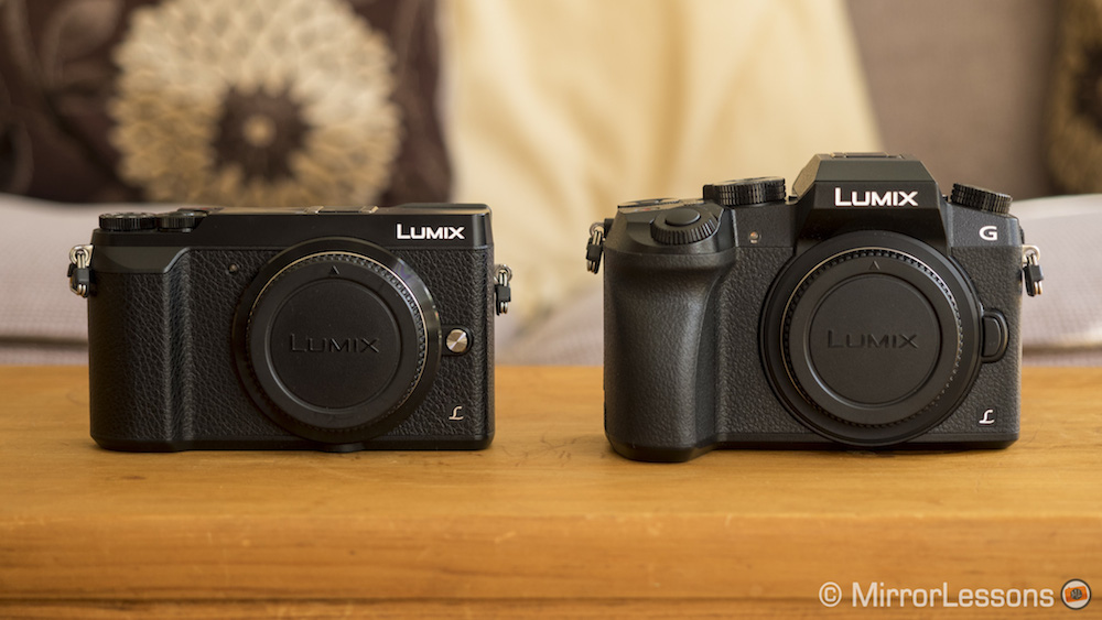panasonic gx85 vs g7