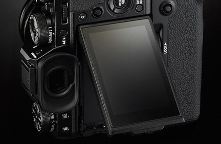 fujifilm x-t2 tilting screen