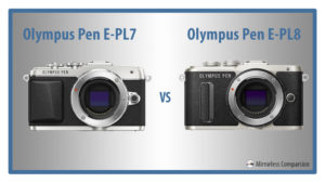 olympus pen epl7 vs epl8