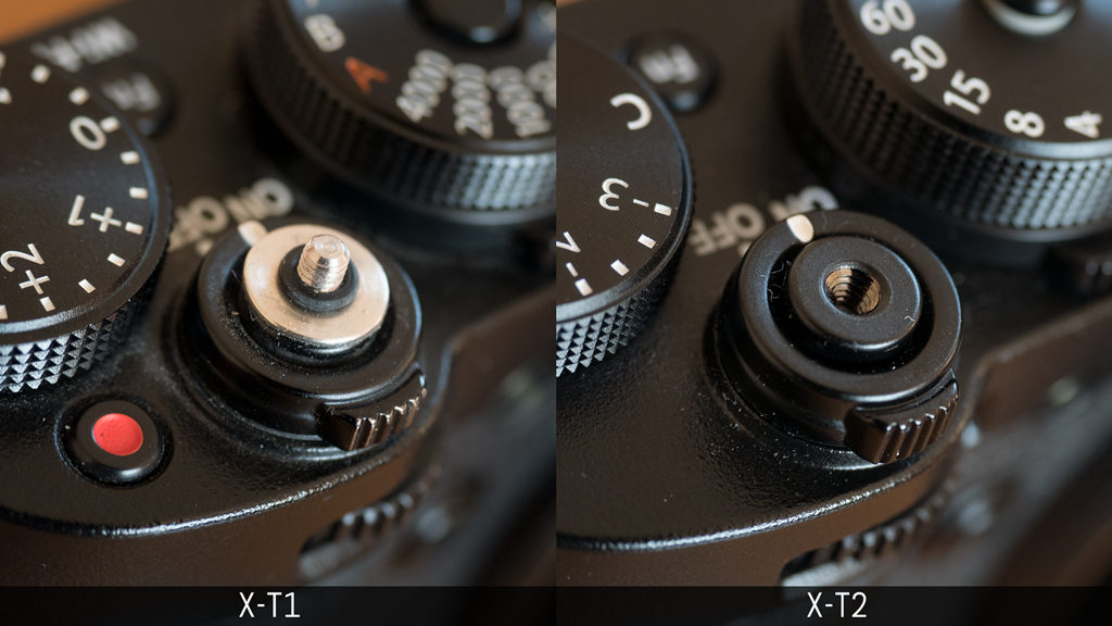 fujifilm x-t1 vs x-t2