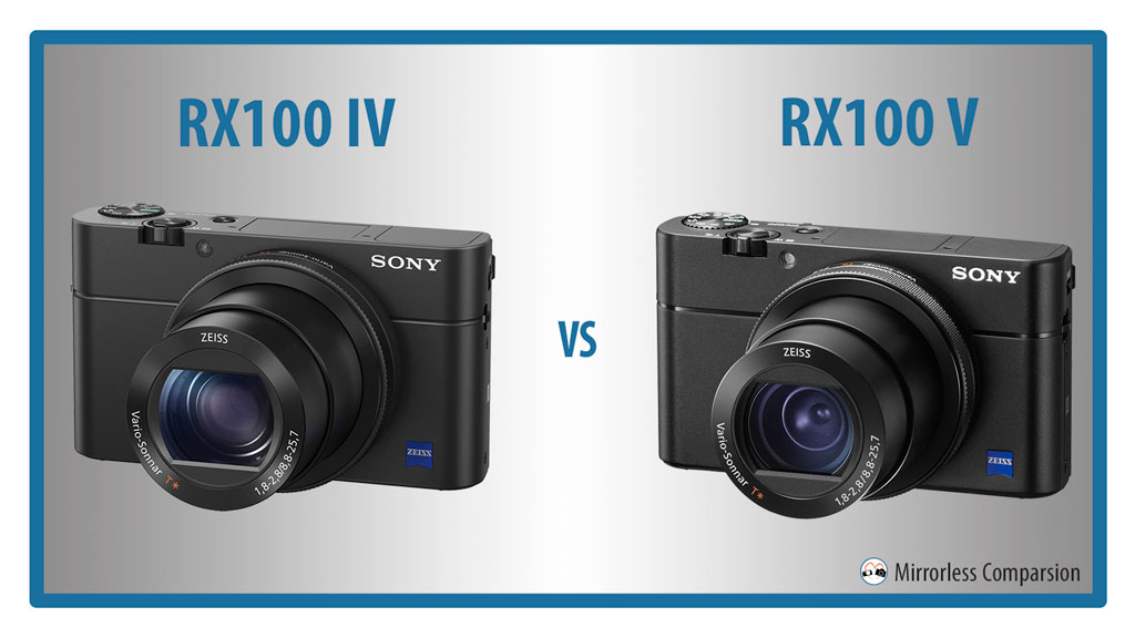 The 10 Main Differences Between the Sony RX100 IV and RX100 V