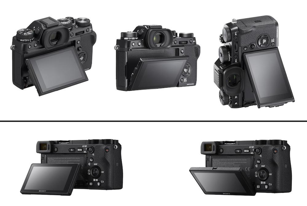 a6500-vs-xt2-tilting-screen