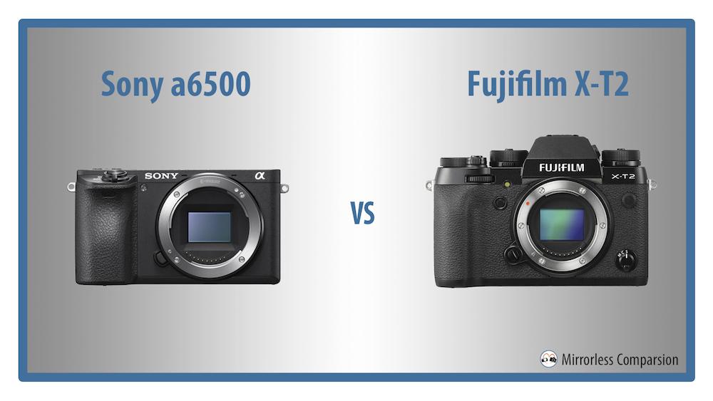 sony a6500 vs fuji xt2