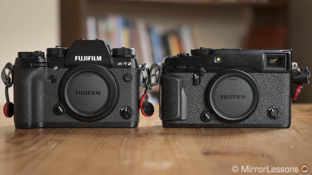 Fujifilm X-T2 vs. X-Pro2 – The complete comparison