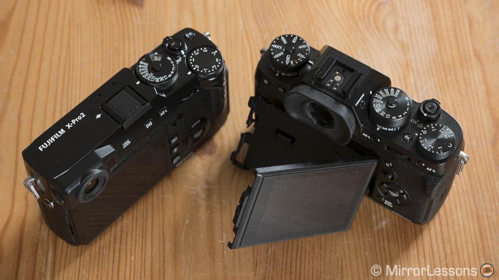 fujifilm xt2 vs xpro2