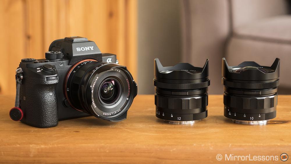 Voigtlander 10mm vs 12mm vs 15mm: Wide-Angle Lenses for Sony E-mount ...