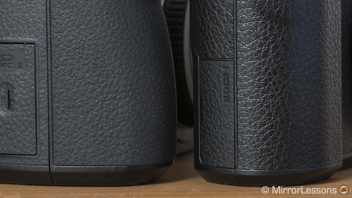 gx85-vs-g85-faux-leather-covering-2