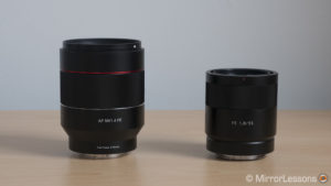 Samyang Rokinon AF 50mm f/1.4 FE vs Sony FE 55mm f/1.8 – The complete comparison