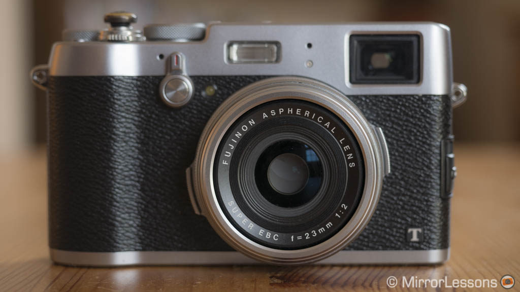 fujifilm x100t vs 23mm f2