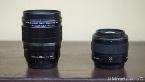 Olympus M.Zuiko 25mm f/1.2 PRO vs. Panasonic Leica 25mm f/1.4 – The complete comparison