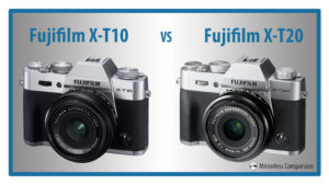 The 10 Main Differences Between the Fujifilm X-T10 and X-T20
