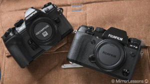 Olympus OM-D E-M1 II vs. Fujifilm X-T2 – The complete comparison
