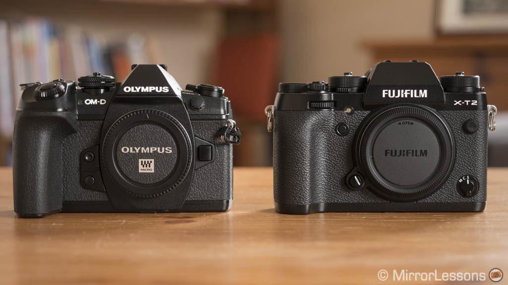 olympus omd em1 ii vs fujifilm xt2