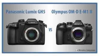 panasonic gh5 vs olympus omd em1 ii