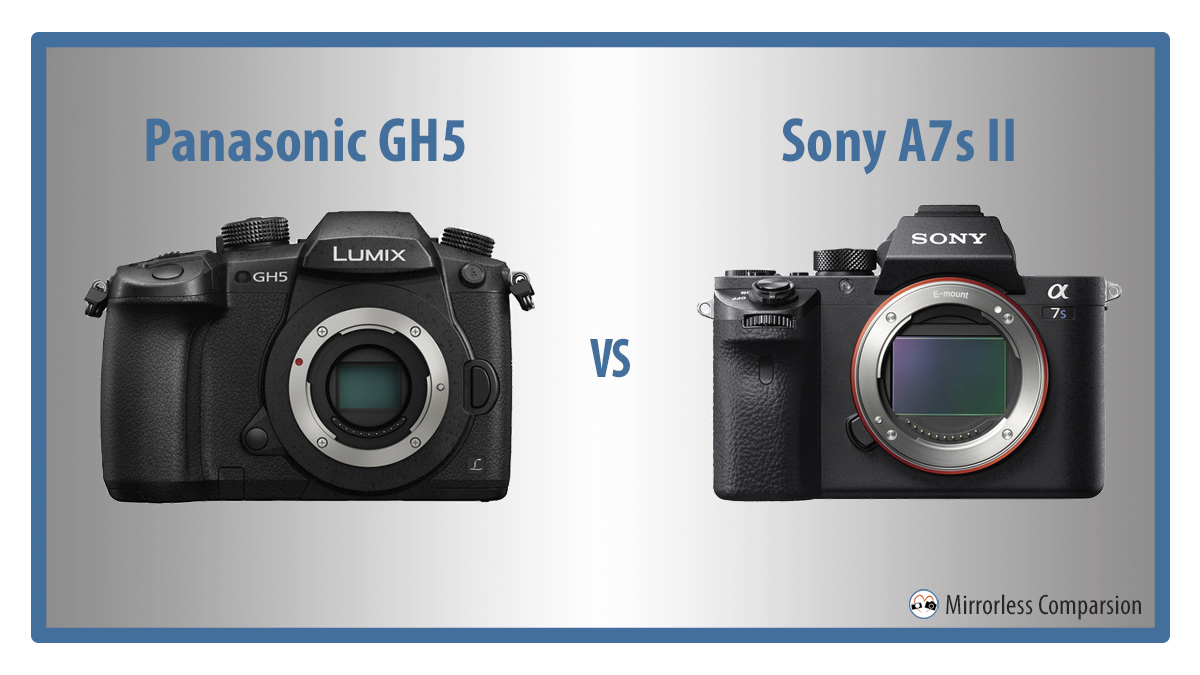 panasonic gh5 vs sony a7s II