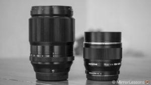 Fujifilm XF 90mm f/2 vs. Olympus M.Zuiko 75mm f/1.8 – Apples vs. Oranges