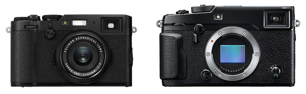The 10 Main Differences Between the Fujifilm X100F and X-Pro2