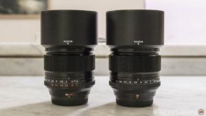 Fujifilm 56mm f/1.2 vs. 56mm APD – Quick comparison