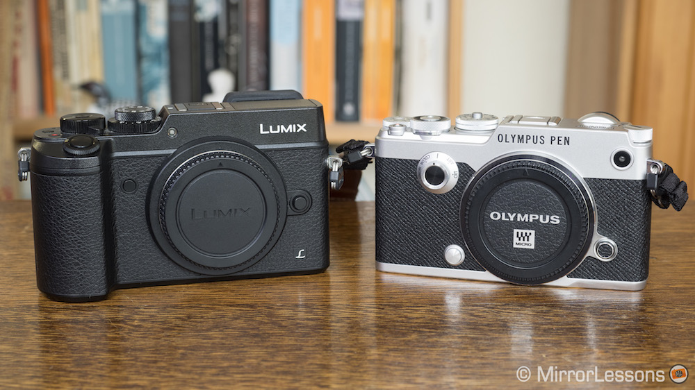 panasonic gx7 vs olympus pen f