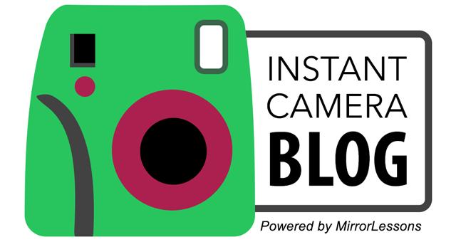 instant camera blog logo