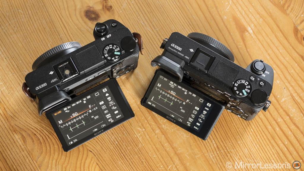 sony a6300. sony a6300 vs a6500