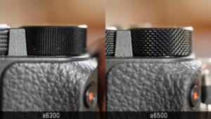 sony a6300 vs a6500