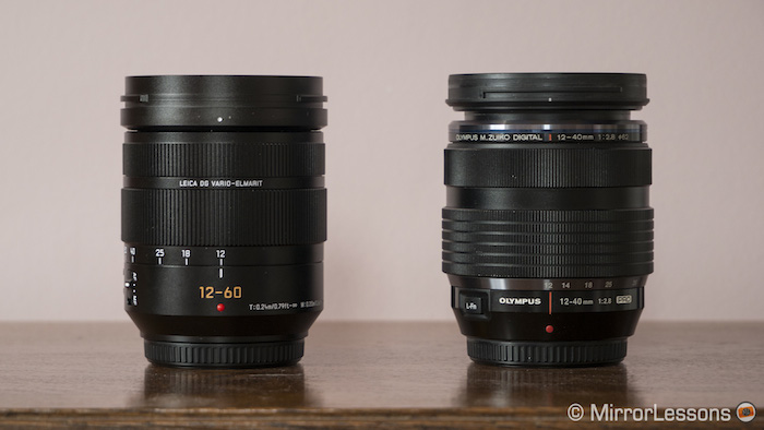 panasonic 12-60mm vs olympus 12-40mm