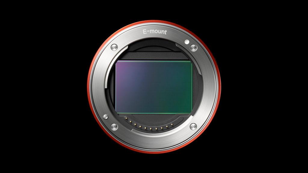 Sony E-mount and full frame sensor