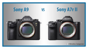 The 10 Main Differences Between the Sony A9 and A7r mark II