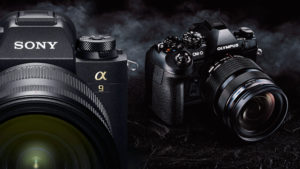 Electronic shutter evolution: Sony A9 and Olympus OM-D E-M1 II