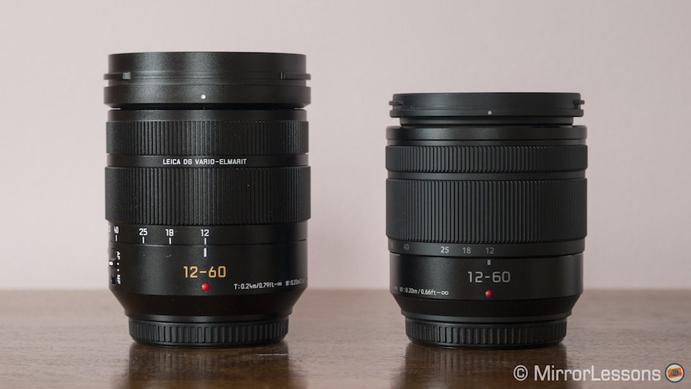 c60a45056cca Check price of the Leica 12-60mm on B&H Photo. Check price of the Lumix 12- 60mm on B&H Photo.