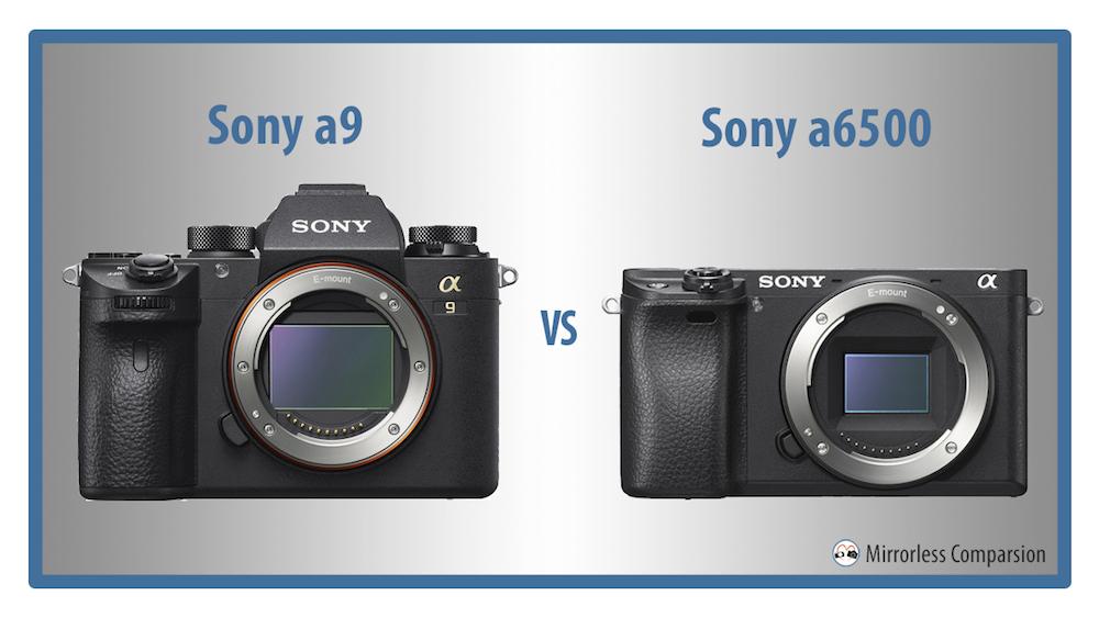 sony a9 vs a6500
