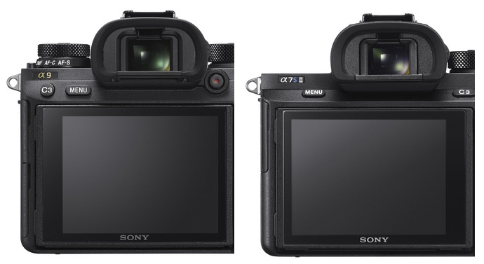 sony a9 vs a7s ii viewfinder