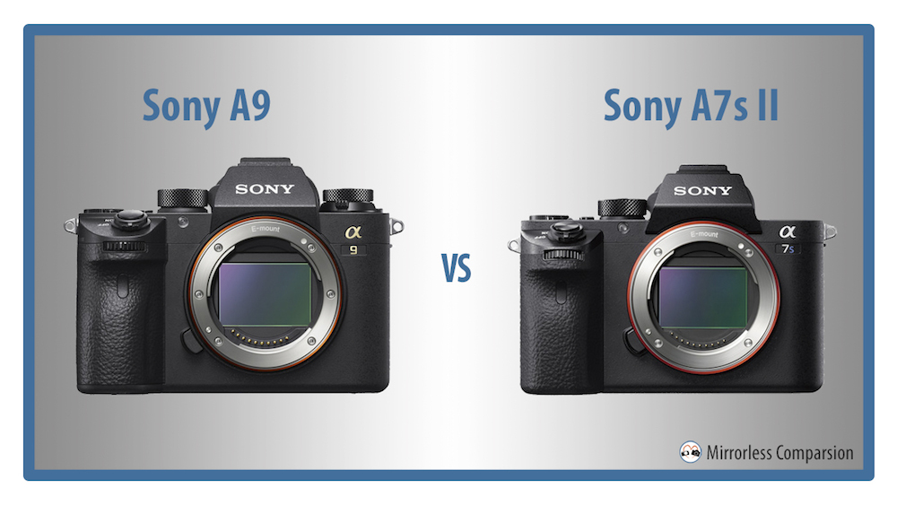 sony a9 vs a7s ii
