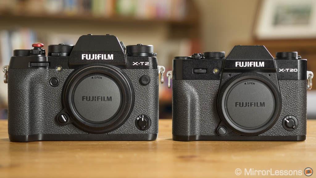 fujifilm xt2 vs xt20