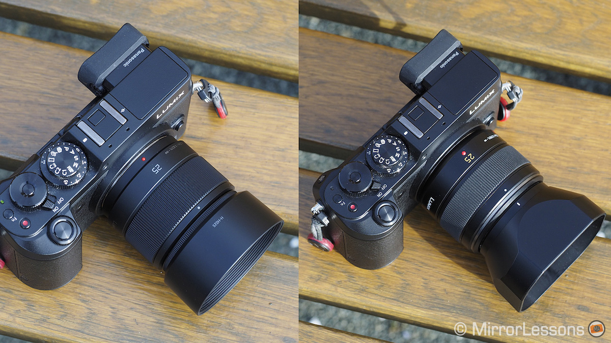 Panasonic Leica 25mm f/1 4 vs Lumix 25mm f/1 7 – The