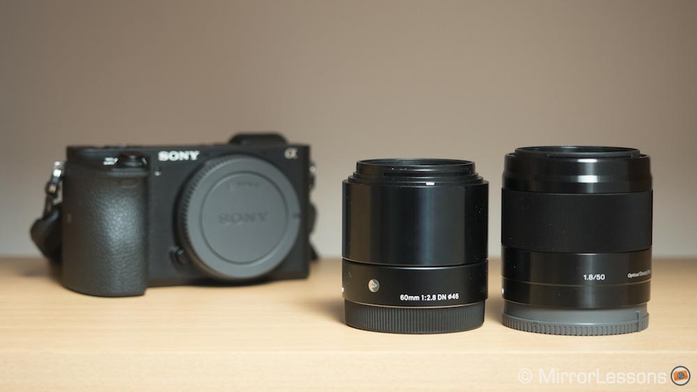 Sony E 50mm f/1.8 OSS vs. Sigma 60mm f/2.8 DN A – The complete comparsion