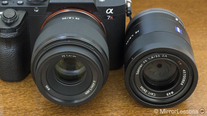 d089a5310d57f Sony FE 50mm f 1.8 vs. FE 55mm f 1.8 – The complete comparison