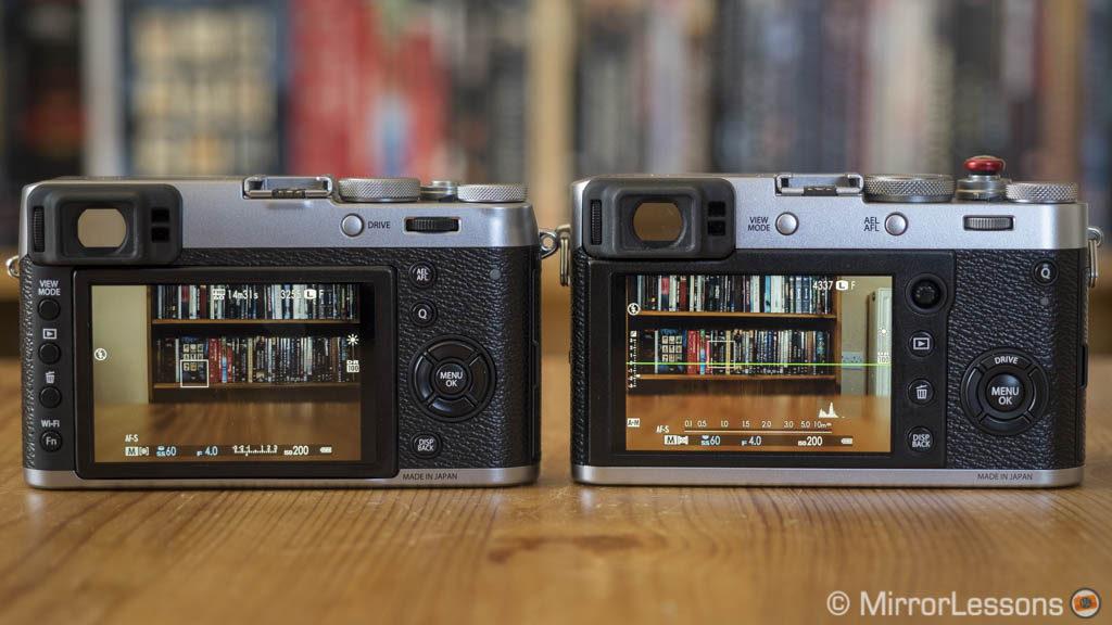 fujifilm x100t vs x100f