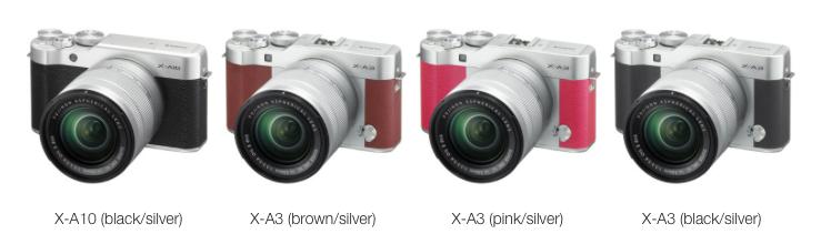 x-a3 vs x-a10 colours