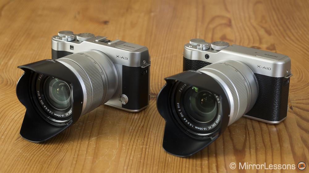 Fujifilm X A3 Vs A10 The Complete Comparison