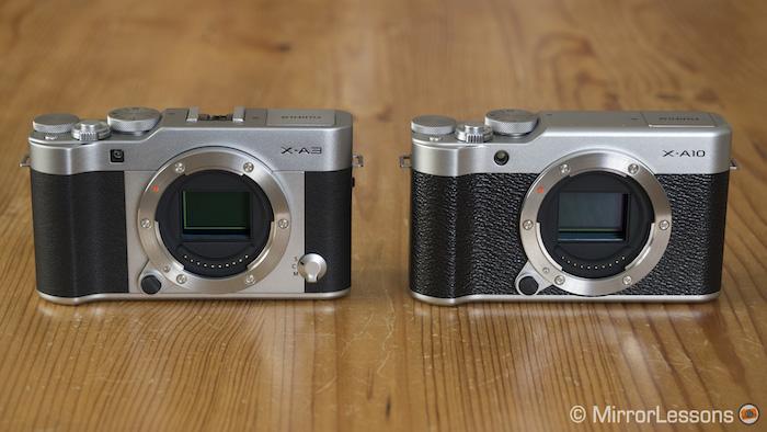 Fujifilm X-A3 vs X-A10 – The complete comparison