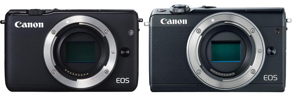 canon eos m10 vs m100