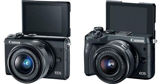 canon eos m100 vs m6 screens