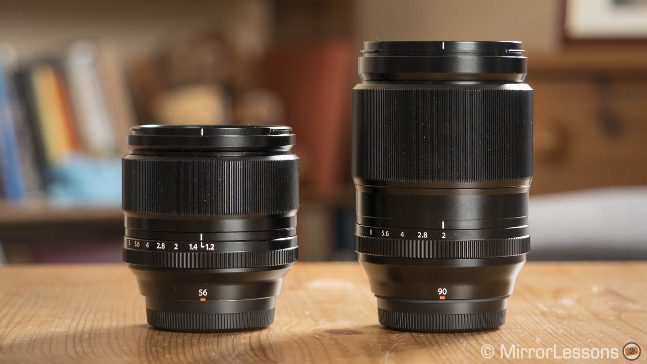 Fujifilm XF 56mm f/1 2 vs 90mm f/2 – The complete comparison