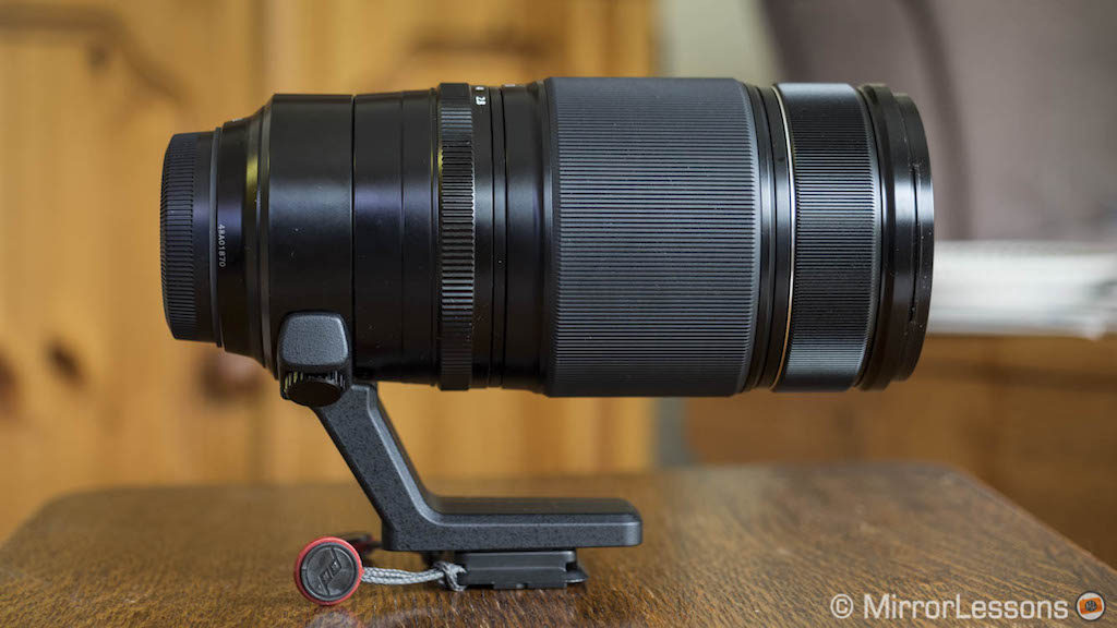50-140mm 2.8, side view, with no hood